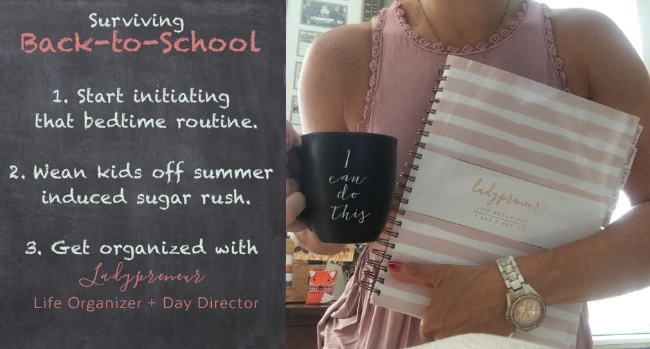 back to school, back-to-school, day planner, organization, mom boss, coffee, fossil watch, erin condren